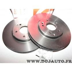 Paire disques de frein avant ventilé 3000mm diametre Brembo 09.8304.21 pour mercedes classe C CLC CLK SLK W203 CL203 C209 R171