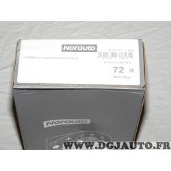 Kit pieds fixation barre de toit Norauto 72 738132 pour citroen C3 de 2002 à 2009 version 5 portes