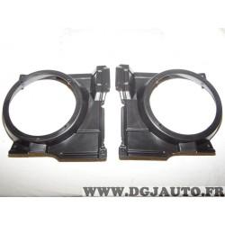 Paire supports bol fixation enceinte haut parleur 165mm portes avant Norauto 4386 pour volkswagen polo de 2000 à 2001