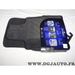Ensemble tapis de sol sur mesure premium avant + arriere Norauto 762143 pour BMW serie 1 partir de 09/2011