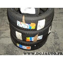 Lot 2 pneus neuf Michelin alpin A5 hiver 215/45/17 215 45 17 91H DOT3515 DOT3815