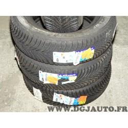 Lot 2 pneus neuf Michelin alpin 5 hiver 205/60/15 205 60 15 91H DOT3814 DOT3914