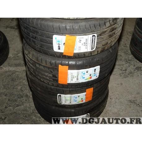 Lot 2 pneus neuf Continental contisportcontact 3 205/45/17 205 45 17 84V FR DOT2115 DOT1015 DOT4915 DOT0916