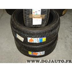 Lot 2 pneus neuf Michelin pilot alpin A4 hiver 235/40/19 235 40 19 96W DOT2614
