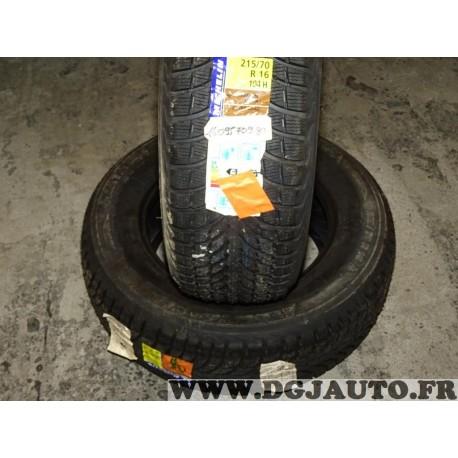 Lot 2 pneus neuf Michelin latitude alpin A2 hiver 215/70/16 215 70 16 104H DOT3915