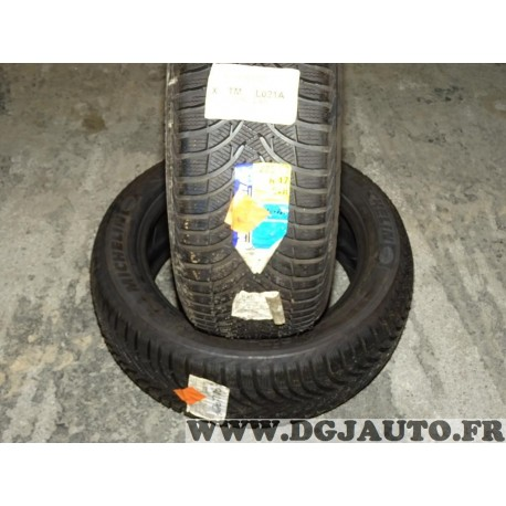 Lot 2 pneus neuf Michelin alpin 4 hiver 225/50/17 225 50 17 94H DOT2512 DOT 2712