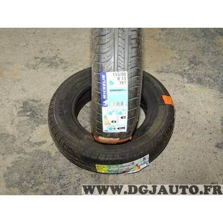 Lot 2 pneus neuf Michelin energy E3B1 155/80/13 155 80 13 79T DOT1215