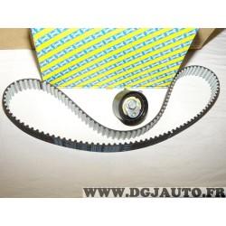 Kit distribution galet + courroie SNR KD455.64 pour dacia dokker duster lodgy logan sandero mercedes citan classe A B CLA GLA W4