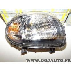 Phare projecteur avant droit Renault 7701045172 pour renault clio 2 II de 1998 à 2001