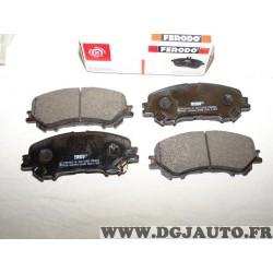 Jeux 4 plaquettes de frein avant montage akebono Ferodo FDB4843 pour renault kadjar koleos nissan qashqai J11 X-trail Xtrail T32