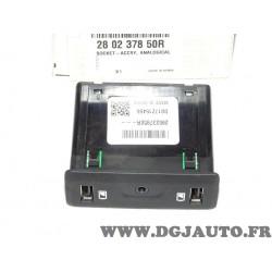 Bloc controleur double prise branchement USB chargeur batterie Renault 280237850R pour renault talisman espace 5 V scenic 4 IV k