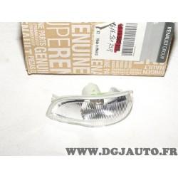 Feu clignotant repetiteur retroviseur avant gauche Renault 261653175R pour renault clio 3 III dacia logan sandero partir de 2012