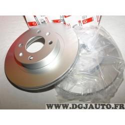 Paire disques de frein avant 252mm diametre ventilé Ferodo DDF1792C pour hyundai i10 kia picanto