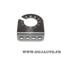 Support platine fixation prise faisceau attelage attache remorque Renault P2