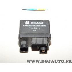 Boitier de préchauffage bougies de prechauffe Nagares TPDS-G/6-12 105820610 pour renault express 1.9D 1.9 D laguna 1 1.9DCI 1.9D