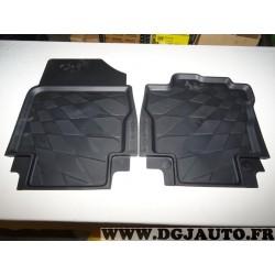 Paire tapis de sol caoutchouc sur mesure Renault 8201321298 pour renault clio 4 IV