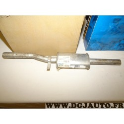 Silencieux echappement intermediaire central Walker 17751 pour fiat cinquecento 0.7 0.9 700CC 900CC essence
