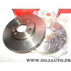 Paire disques de frein avant ventilé 308mm diametre Eicher 104441289 pour volkswagen transporter T5 T6