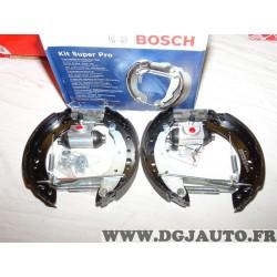 Kit frein arriere 203x38 prémonté montage lucas Bosch 0204114675 KS675 pour renault clio 2 II twingo 2 II