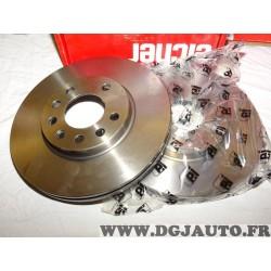 Paire disques de frein avant ventilé 280mm diametre Eicher 104720059 pour opel astra G H corsa C meriva A B zafira A B