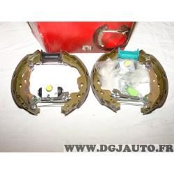 Kit frein arriere 200x32 prémonté montage Bosch Eicher 122540379 pour citroen C1 peugeot 107 toyota aygo