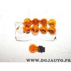 Lot 9 ampoules de feu clignotant type 32/2CP WB Vann 14547