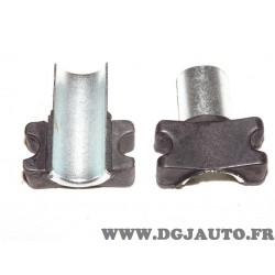 Paire demi coussinet palier silent bloc barre stabilisatrice Sidem 853809 pour peugeot 305 405
