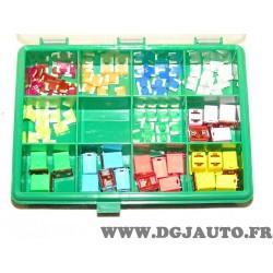 Coffret de fusible rectangulaire et micro fusible (contenu de la photo coffret ouvert) Littelfuse 00950025XXN