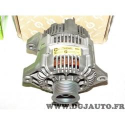 Alternateur 80A Valeo 746046 pour renault clio 1 express 1.9D 1.9 D diesel