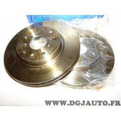 Paire disques de frein avant 280mm diametre ventilé Requal RDV089 pour fiat sedici suzuki SX4