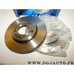 Paire disques de frein avant 239mm diametre ventilé Requal RDV193 pour skoda fabia volkswagen fox polo 4 IV