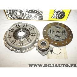 Kit embrayage disque + mecanisme + butée hydraulique LUK 620237534 pour opel astra G 1.4 1.6 essence vectra B 1.8 essence