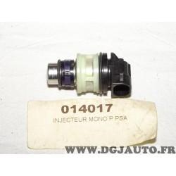 Injecteur carburant monopoint Bresch 014017 pour citroen XM peugeot 605