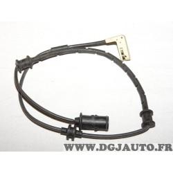Contacteur capteur temoin usure plaquettes de frein Bosch AP191 1987474936 pour opel vectra B dont break