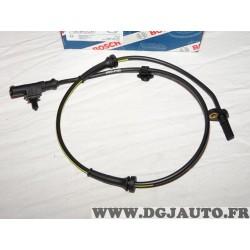 Capteur ABS vitesse de roue avant Bosch 0265007687 pour citroen C1 peugeot 107 toyota aygo