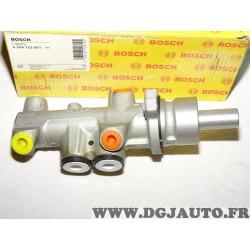 Maitre cylindre de frein Bosch 0204123651 pour renault master 2 II opel movano A nissan interstar