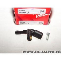 Capteur ABS vitesse de roue arriere droite TRW GBS2518 pour audi A1 A3 Q3 TT seat alhambra altea leon 2 3 II III toledo 3 III sk