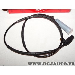Capteur ABS vitesse de roue arriere TRW GBS1317 pour BMW serie 1 3 E81 E82 E87 E88 E90 E91 E92 E93