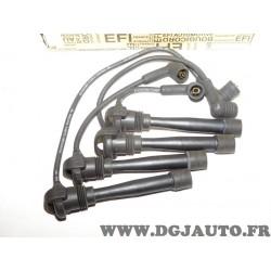 Jeu cable faisceau fils allumage bougie Bougicord 4204 pour fiat palio panda punto seicento lancia Y ypsilon 1.1 1.2 essence
