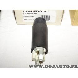 Pompe à carburant VDO X10-736-002-006 pour citroen ZX peugeot 306 1.4 1.6 1.8 1.9 2.0 essence