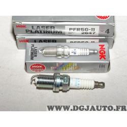 Lot 4 bougies allumage platinum NGK 2647 PFR5G-11 pour dodge stratus honda legend 2 II infiniti I30 mercedes classe C E G ML R S