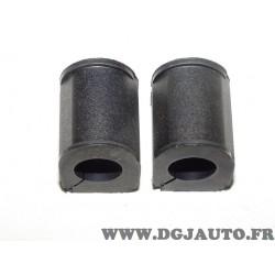 Lot 2 silents bloc barre stabilisatrice Sasic 4001446 pour renault super 5 1.7 essence 1.6D 1.6 D diesel