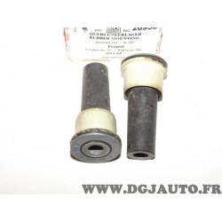 Lot 2 silents bloc fusée jambe de force suspension avant Febi 26933 pour citroen C5 C6 peugeot 407 508