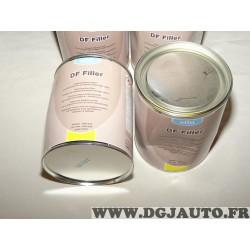 1 Pot 1L 1000ML vernis acrylique gris clair double fonction Afin DF Filler 87892 (pas de DLU indiqué, vendu en l'état sans récla