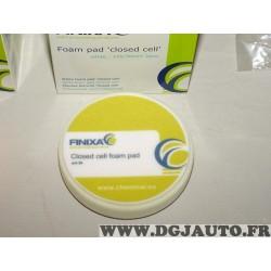 1 Mousse de polissage blanche 145mm Finixa POL25 foam pad closed cell white