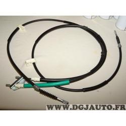 Double cable de frein à main Hitec K19915 pour ford fiesta 5 V 1.25 1.4 2.0 ST150 essence