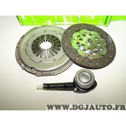 Kit embrayage disque + mecanisme + butée hydraulique Valeo 834052 pour renault avantime espace 4 IV laguna 2 II velsatis vel sat