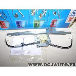 Mecanisme leve vitre electrique (sans moteur) porte arriere gauche Liftek LTBM704L pour BMW serie 3 E46 de 1998 à 2005