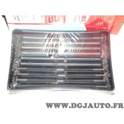Pack 10 vis de culasse Corteco 016244B pour renault clio 1 2 I II kangoo twingo 1 2 I II 1.2 essence