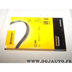 Courroie de distribution Continental CT989 pour fiat ducato iveco daily renault master 2.5TD 2.5 TD diesel partir de 1990